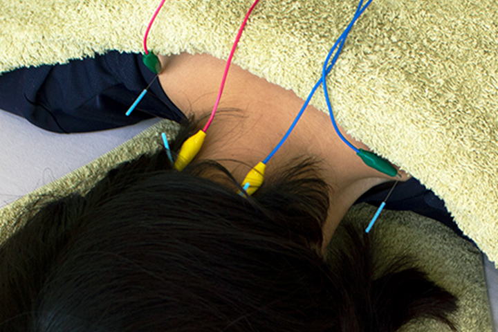 パルス(鍼通電療法)で より高い治療効果を実感